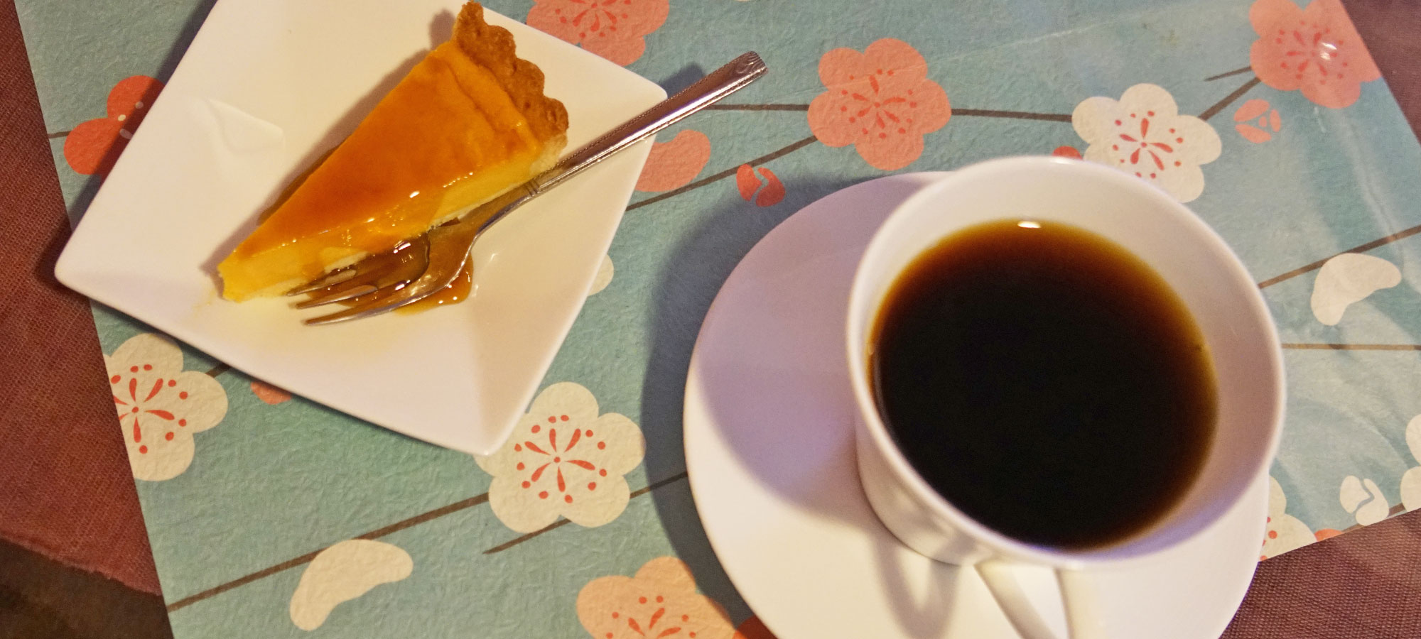 農家レストランあかねデザートとコーヒー